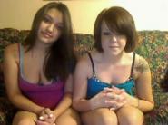 Webcam vids two licking lesbians