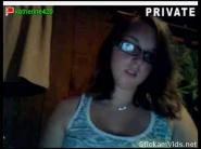 Busty Katherine masturbate on stickam