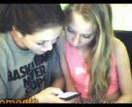Sanela and Jelena showing pussy on Omegle